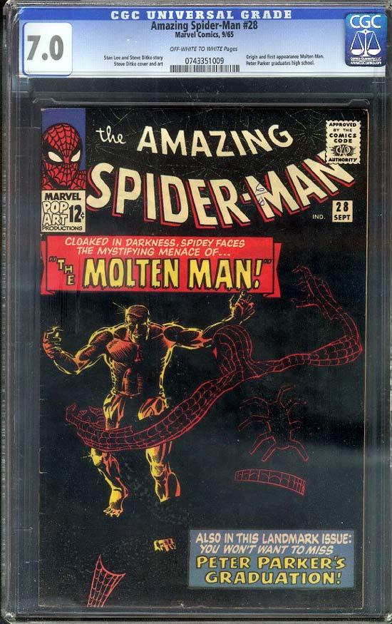 Amazing Spider-Man #28 CGC 7.0 ow/w