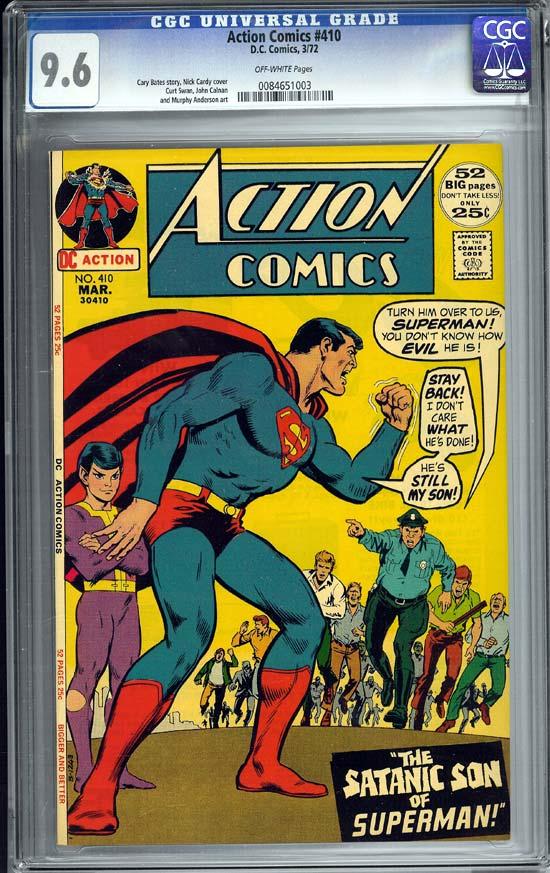Action Comics #410 CGC 9.6ow