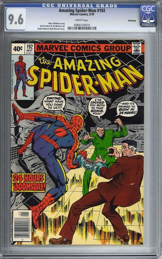 Amazing Spider-Man #192 CGC 9.6 w Winnipeg