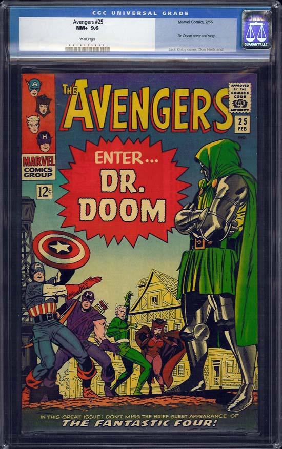 Avengers #25 CGC 9.6 w