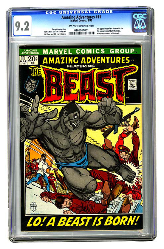 Amazing Adventures #11 CGC 9.2 ow/w