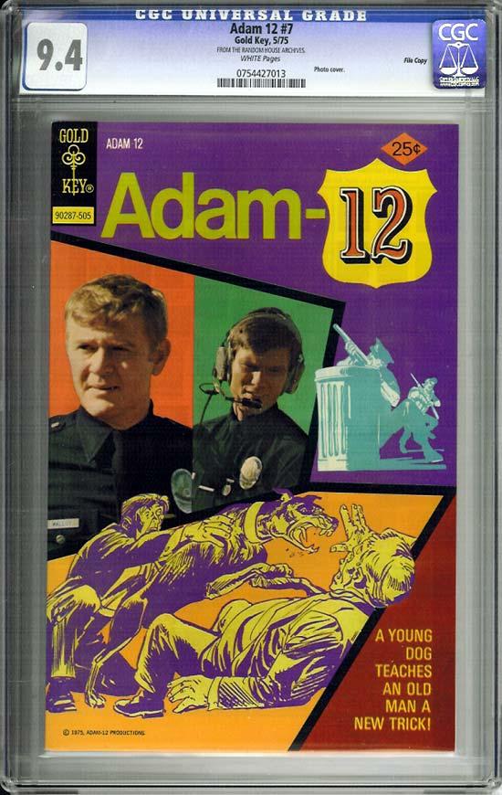 Adam 12 #7 CGC 9.4 w File Copy