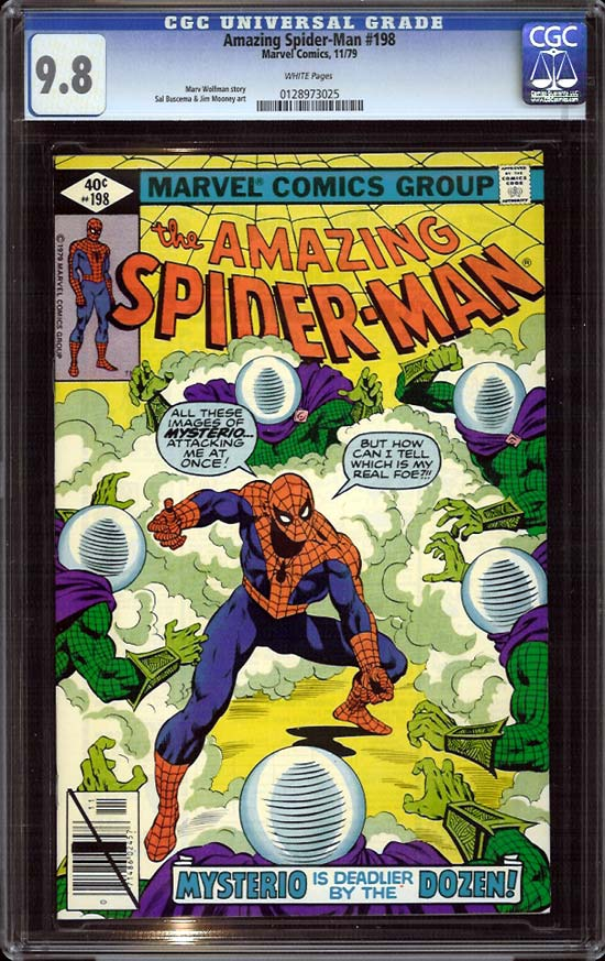 Amazing Spider-Man #198 CGC 9.8 w