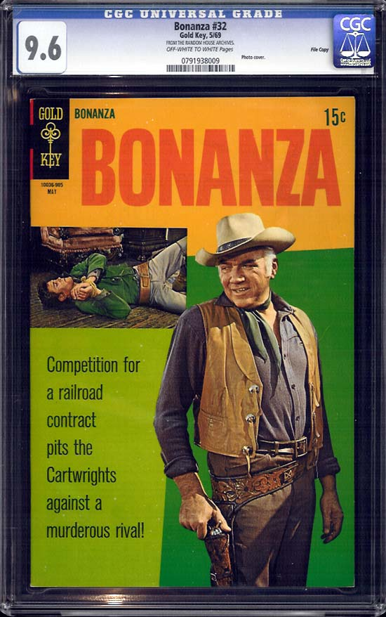 Bonanza #32 CGC 9.6 ow/w File Copy
