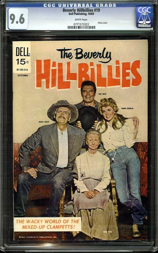 Beverly Hillbillies #19 CGC 9.6 w