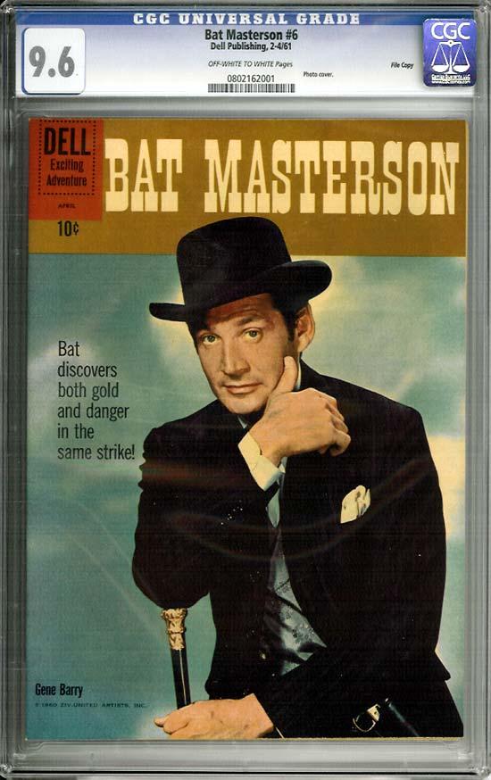 Bat Masterson #6 CGC 9.6 ow/w File Copy