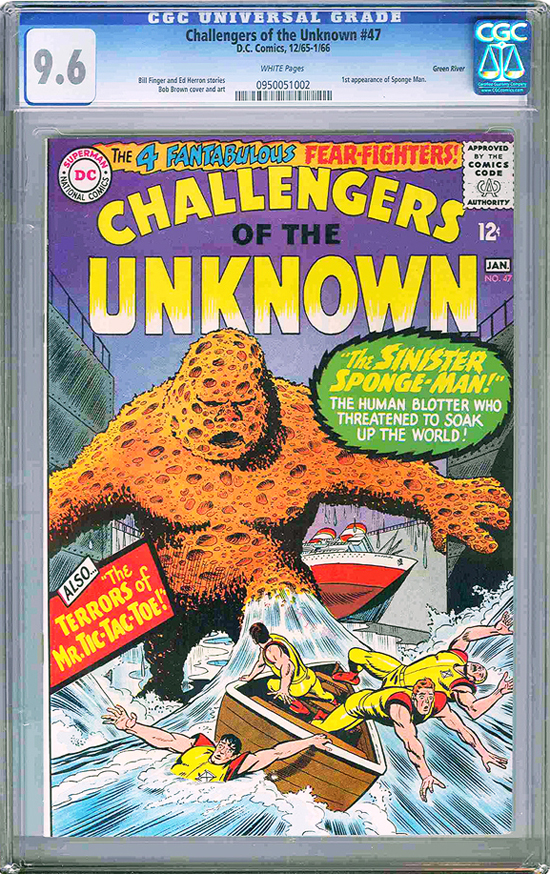 Challengers of the Unknown #47 CGC 9.6 w Green River