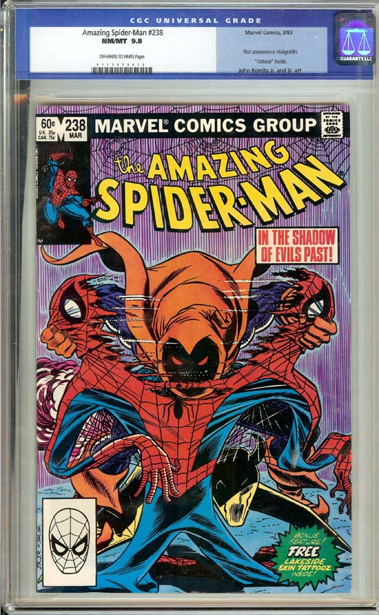 Amazing Spider-Man #238 CGC 9.8 ow/w