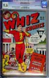 Whiz Comics #39 CGC 9.6 ow/w Edgar Church (Mile High)