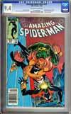 Amazing Spider-Man #257 CGC 9.4 ow/w