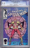Amazing Spider-Man #264 CGC 9.8 ow/w
