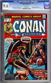 Conan The Barbarian #23 CGC 9.6 w