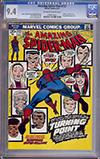 Amazing Spider-Man #121 CGC 9.4 ow/w