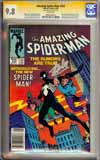 Amazing Spider-Man #252 CGC 9.8 w CGC Signature SERIES