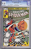 Amazing Spider-Man #244 CGC 9.8 ow/w