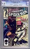 Amazing Spider-Man #256 CGC 9.8 ow/w
