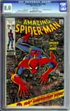 Amazing Spider-Man #100 CGC 8.0 w