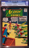 Action Comics #273 CGC 7.5 ow