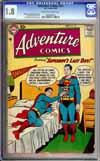Adventure Comics #251 CGC 1.8 cr/ow