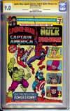 Spider-Man, Captain America, Hulk & Spider-Woman #1 CGC 9.0 ow/w CGC Signature SERIES
