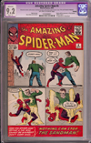 Amazing Spider-Man #4 CGC 9.2 ow/w