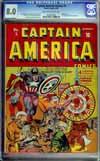 Captain America Comics #5 CGC 8.0 cr/ow