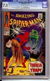 Amazing Spider-Man #54 CGC 7.5 ow/w
