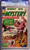 Journey Into Mystery #97 CGC 9.4 ow