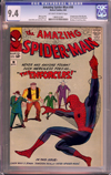 Amazing Spider-Man #10 CGC 9.4 ow/w