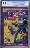 Amazing Spider-Man #102 CGC 9.4 w