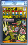 80 Page Giant #7 CGC 9.0 cr/ow