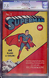 Superman #2 CGC 7.5 cr/ow Nicolas Cage Collection