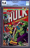 Incredible Hulk #181 CGC 9.4 cr/ow