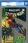 Amazing Spider-Man #65 CGC 9.4 cr/ow
