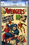 Avengers #4 CGC 9.4 ow