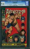 Avengers #38 CGC 9.6 ow