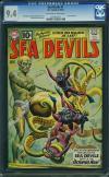 Sea Devils #1 CGC 9.4 ow/w