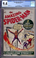 Amazing Spider-Man #1 CGC 9.4 ow/w