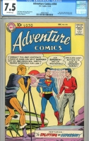 Adventure Comics #255 CGC 7.5 ow