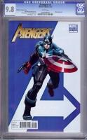 Avengers #1 CGC 9.8 w Romita Jr. Variant Cover