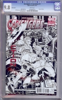 Avengers: X-Sanction #1 CGC 9.8 w Sketch Cover