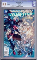Justice League #15 CGC 9.9 w Lee Variant Cover