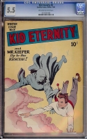 Kid Eternity #8 CGC 5.5 ow/w
