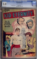 Kid Eternity #11 CGC 3.0 cr/ow