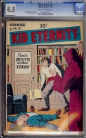 Kid Eternity #12 CGC 4.5 ow/w