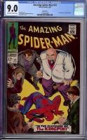 Amazing Spider-Man #51 CGC 9.0 ow/w Green River