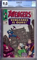Avengers #20 CGC 9.0 w Green River