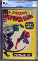 Amazing Spider-Man #45 CGC 9.4 ow/w