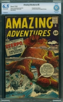 Amazing Adventures #6 CBCS 6.5 ow/w