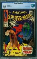 Amazing Spider-Man #54 CBCS 9.0 ow/w